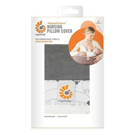 ERGO Baby Natural Curve Nursing Pillow Cover - Sheep