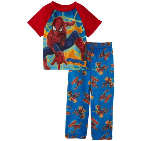 Marvel Comics Amazing Spiderman 2 Toddler Pajama for Little Boys - Spiderman Onesies For Adults