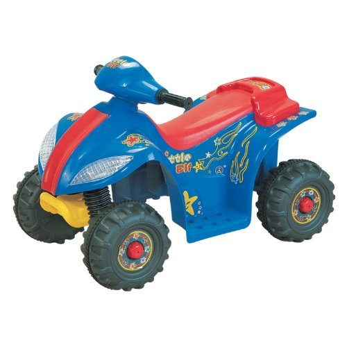 Happy Rider Lil Quad II ATV Battery Powered Riding Toy