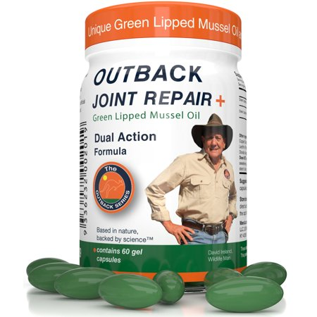 Outback Joint Repair Supplement with Green Lipped Mussel Oil, 60 (Best Green Lipped Mussel Supplement)