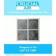 LG LT120F Air Purifying Fridge Filter, Part # 9918 ADQ73334008 & ADQ73214404