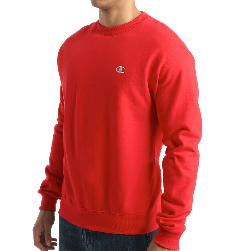 Red Champion Sweatshirt | Fashion Ql