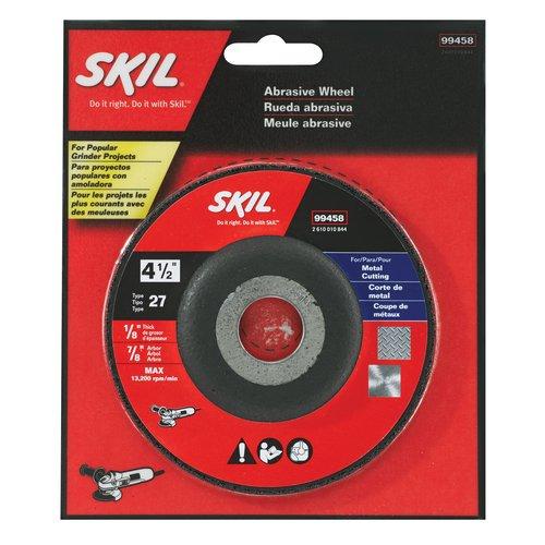 """Skil 4-1/2"""" x 1/8"""" Metal Cutting Wheel"""