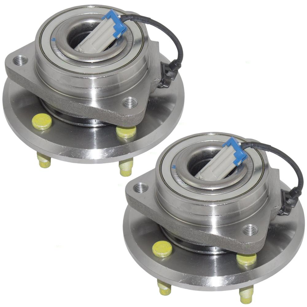 Pair Set Front Wheel Hub Bearings Replacement for Chevrolet Pontiac Saturn Suzuki SUV 19206599 43421-78J01 513276