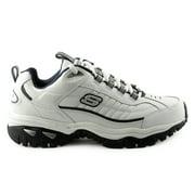 Skechers Sport Men's Energy Afterburn Lace-Up Sneaker,White/Navy,13 M US