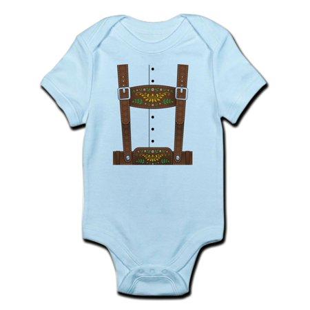 CafePress - Lederhosen Oktoberfest Infant Bodysuit - Baby Light - Lederhosen For Babies