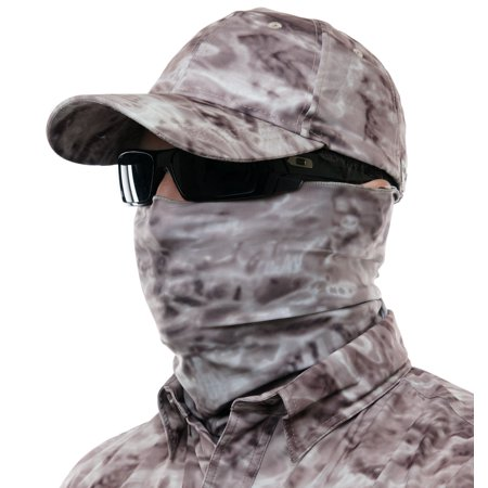 ab50ed526d478f Aqua Design Men Water Camo UPF 50+ Sun Guard Protection Mask Face Tube  Multipurpose Wind Head Neck Sizes Youth to Adult XL Sports Fishing  Backpacking Gaiter