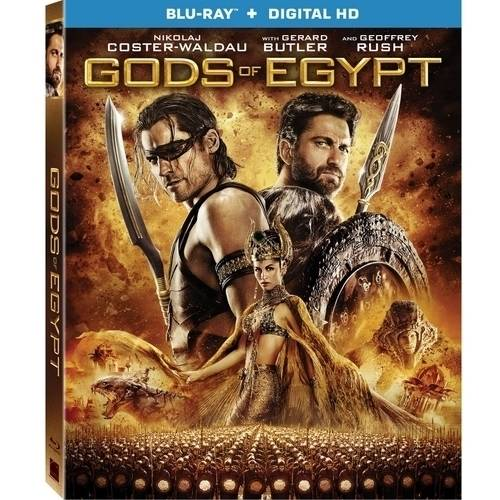Gods Of Egypt (Blu-ray + Digital HD) (With INSTAWATCH)