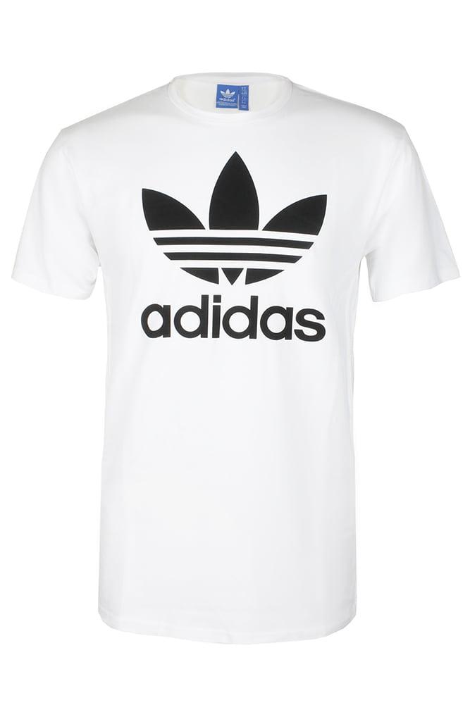 Adidas - Adidas Men's Short-Sleeve Trefoil Logo Graphic T-Shirt - Walmart.com