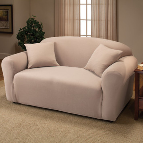 Madison Jersey Stretch Slipcover, Loveseat by Madison Home
