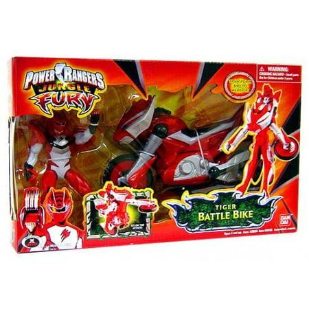 Power Rangers Jungle Fury Tiger Battle Bike