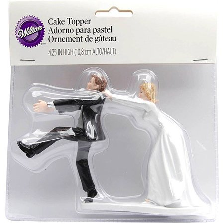 Wilton Oh No You Don't Wedding Cake Topper, 1 Ct