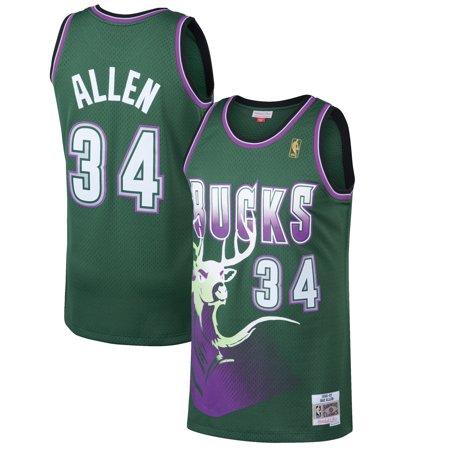 Alien Jersey (Ray Allen Milwaukee Bucks Mitchell & Ness 1996-97 Hardwood Classics Swingman Jersey - Kelly)