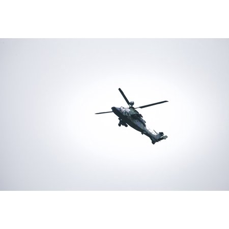 LAMINATED POSTER Gunship Army Air Force Tiger Helicopter Bundeswehr Poster Print 11 x 17 Air Force Tiger Stripe
