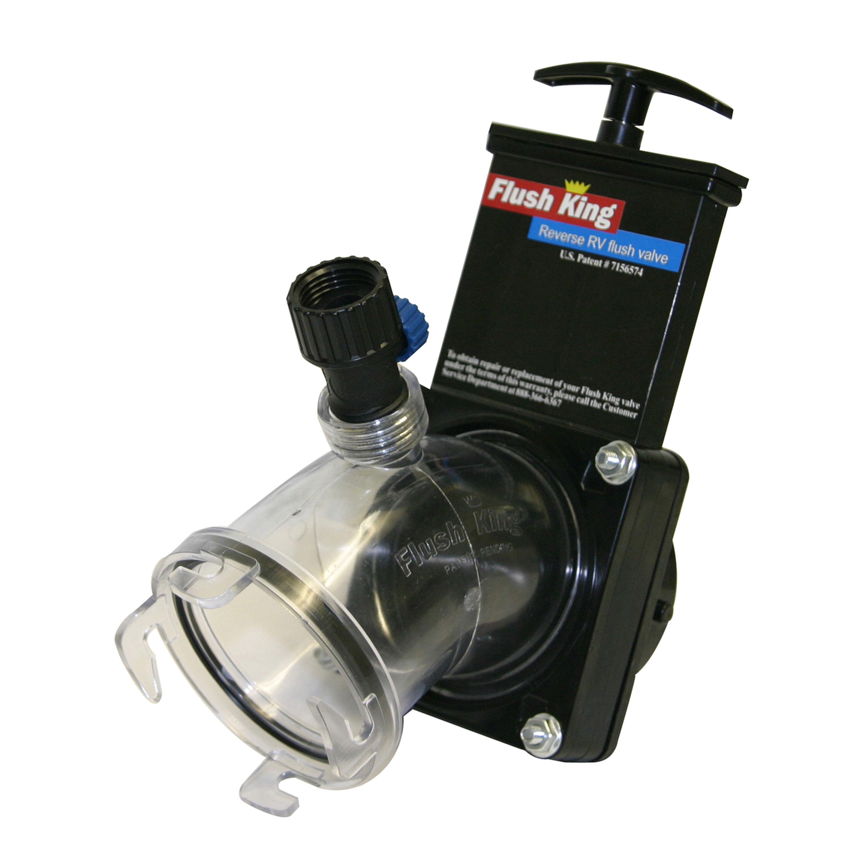 Valterra F02-4350 Flush King Reverse RV Flush Valve