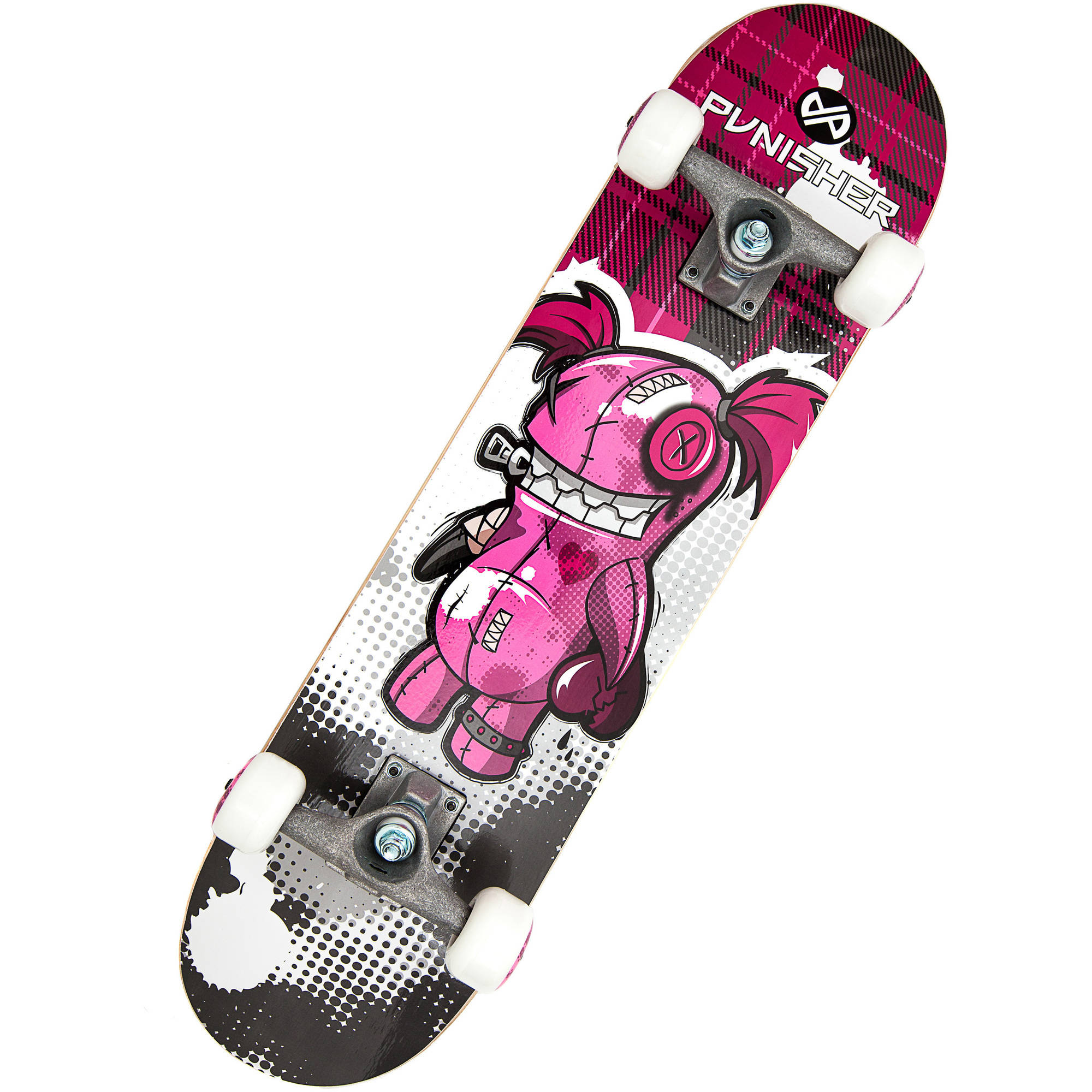"""Punisher Skateboards Voodoo 31.5"""" ABEC-7 Complete Skateboard by Generic"""