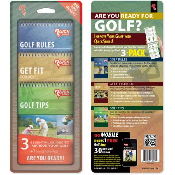 Proactive GolfQuick Series 3 pack  The Clever Golfer