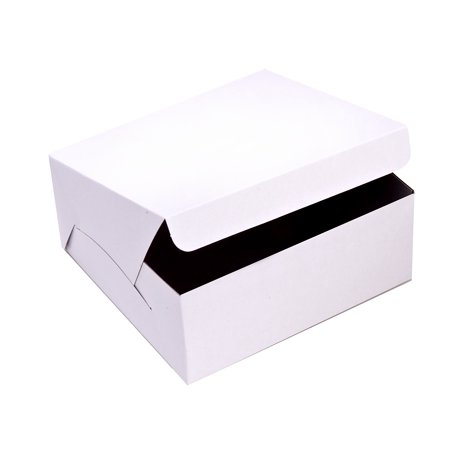 SafePro 12x12x6-Inch Cake Boxes, 50-Piece Case (Cake Boxes Walmart)