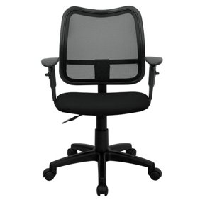 flash furniture personalized mid back red mesh swivel task chair