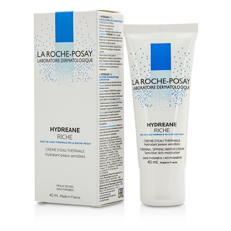 Laroche Posay Sun Protection Cream - La Roche Posay Hydreane Thermal Spring Water Cream Sensitive Skin Moisturizer - Rich 40ml/1.35oz