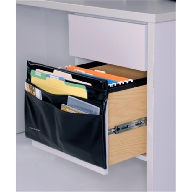 Seat Sack 00224 File-n-Save Sack 16 in. Leatherette Black