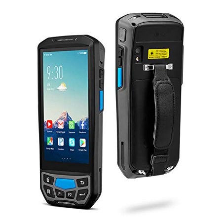 Android 8.1 Barcode Scanner MUNBYN Rugged Handheld Mobile Terminal with 1D Honeywell Laser Reader, Touch Screen, Camera, Wireless 4G WiFi GPS BT for Delivery Shipping Warehouse Retail Inventory System thumbnail