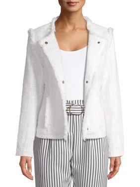 Women's Structured Tweed Jacket