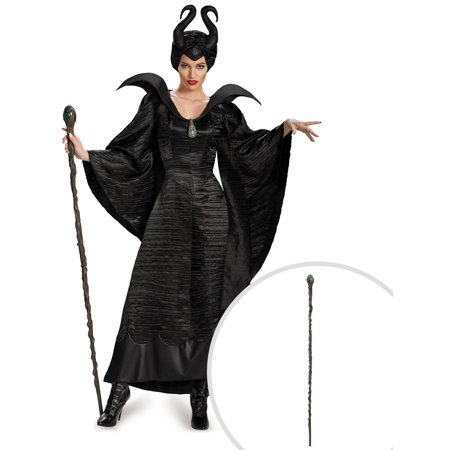 Maleficent Christening Black Gown Deluxe Costume for Adults and Queen Maleficent Classic 56