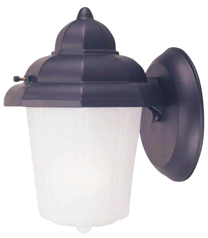 Boston Harbor AL9002H-53L Lantern Porch Light Fixture, Medium, 60 W, 1 Lamp by Mintcraft