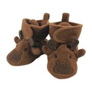 Hudson Baby Newborn Boy Animal Fleece Lined Booties