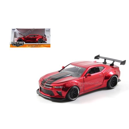 JADA 1:24 W/B BIG TIME MUSCLE - 2016 CHEVROLET CAMARO SS WIDE BODY WITH GT WING - 98136-MJ