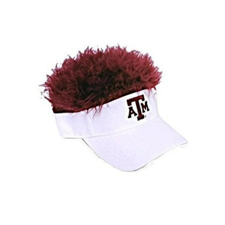 Texas A&M Aggies NCAA Flair Hair  Licensed Visor, NEW, Embroidered - Hair Visors