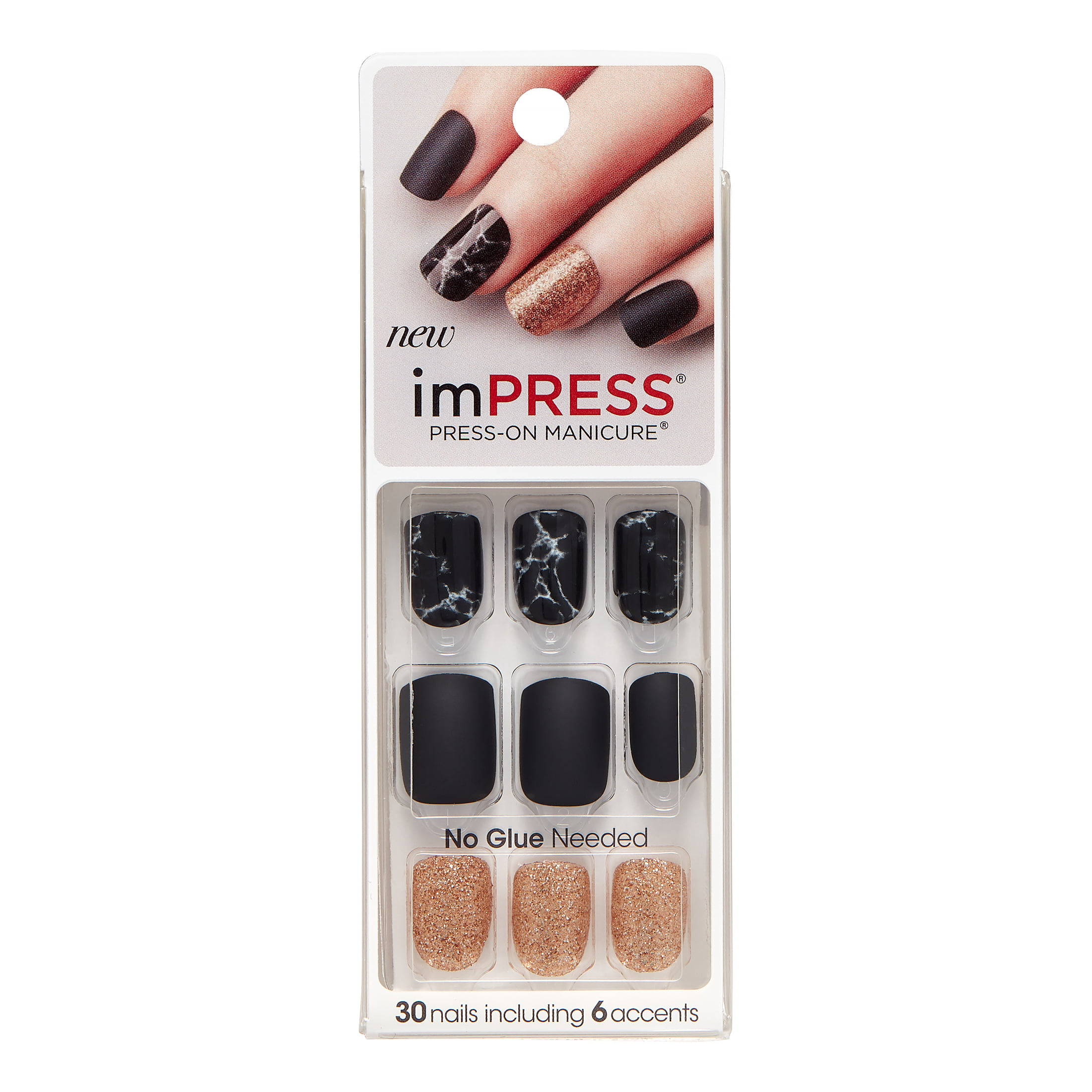 ImPRESS Press-on Nails Gel Manicure - Yeah Boy