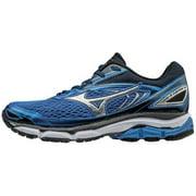 Mizuno Men's Wave Inspire 13 Running Shoe, Strong Blue/Silver, 10 D US
