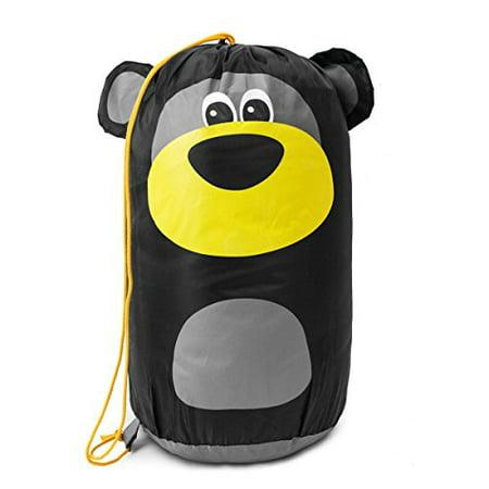 Sleepy Bear Slumber Sack Sleeping Bag Backpack Nap Sack