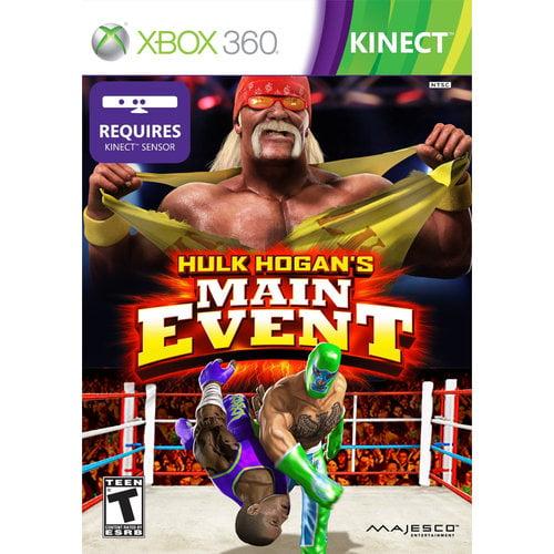 Kinect Hulk Hogan's Main Event (Xbox 360)