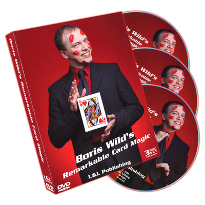 Remarkable Card Magic (3 DVD Set) by Boris Wild - DVD