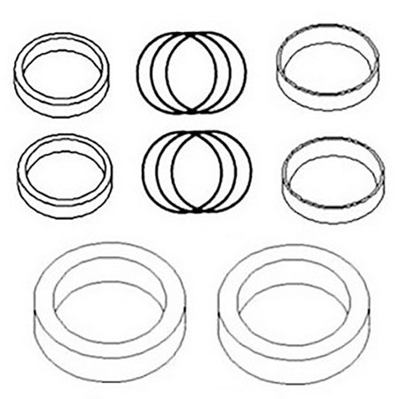 835833M92 New Hydraulic Cylinder Seal Kit for Massey