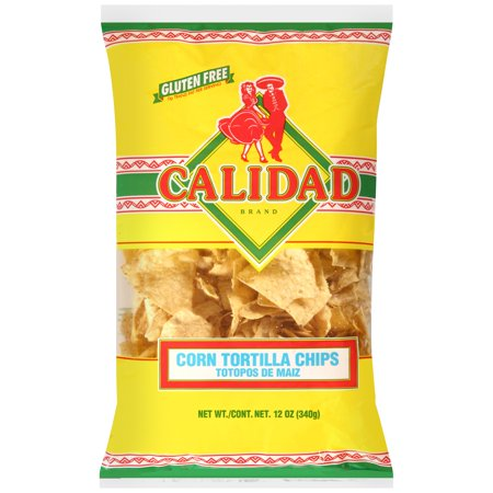 Calidad? Corn Tortilla Chips 12 oz. Bag - Walmart.com