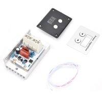 Greensen 10000W SCR Digital Voltage Regulator Speed Control Dimmer Thermostat AC 220V 80A