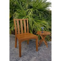 Chic Teak Boston Teak Patio Dining Side Chair