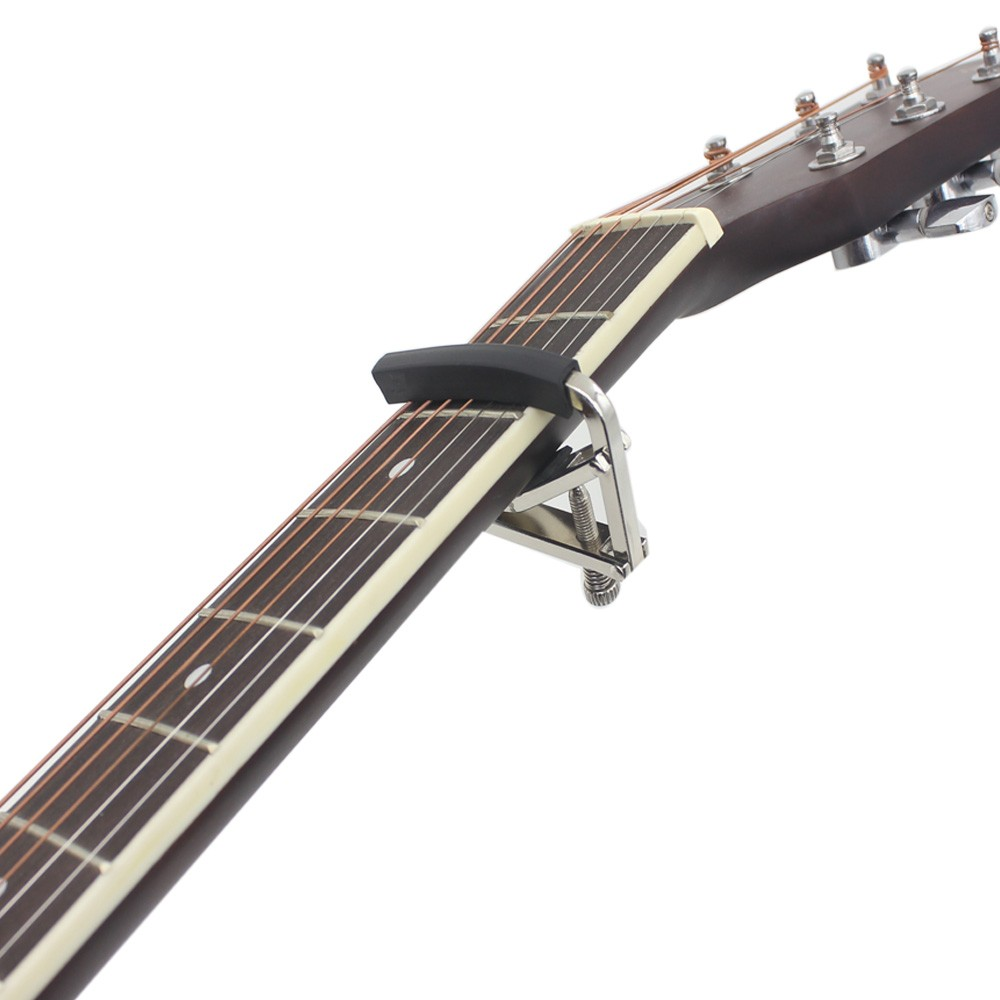Andoer U Shape Guitar Capo Metal with Screw for Acoustic Electric Guitar Ukulele Universal by