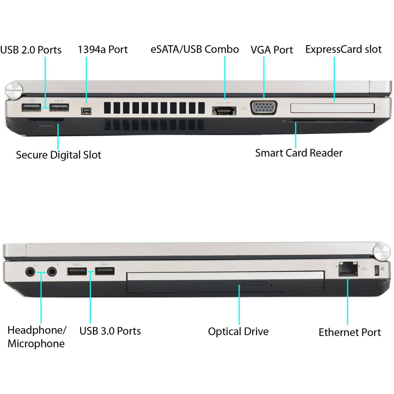 Refurbished HP EliteBook 8570P 15 6