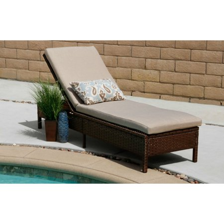 Amazing Innovex Vera Brown Rattan Steel Outdoor Lounge Chair Alphanode Cool Chair Designs And Ideas Alphanodeonline
