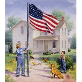 American Pride Jigsaw Puzzle 550 Piece Multi-Colored