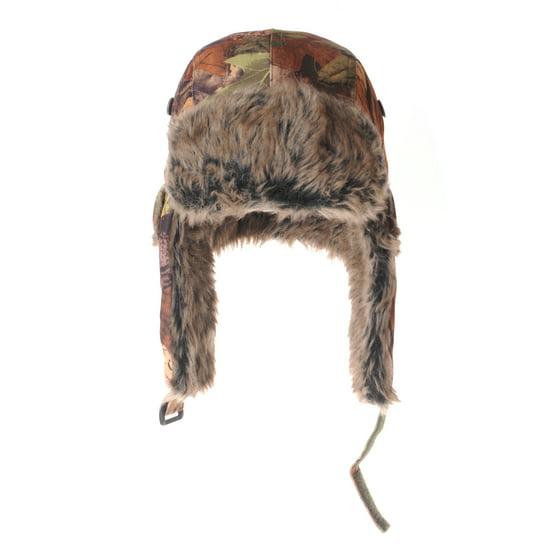 6985fb3e90f WITHMOONS Ear Flap Beanie Hat Amazon Forest Leaf Pattern Faux Fur LX7521 ( Green) - Walmart.com
