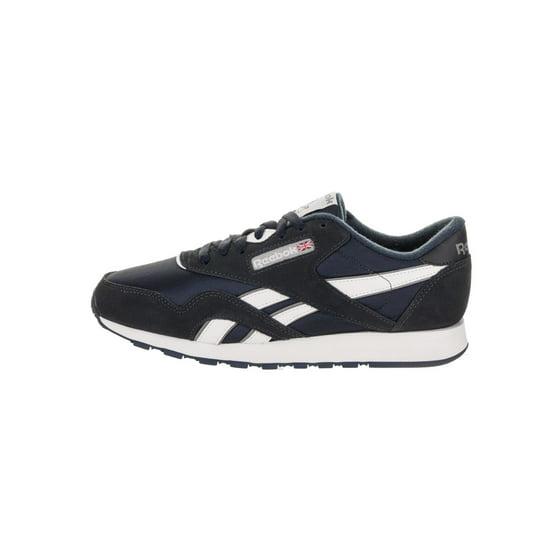 c43d9832 Reebok - Reebok 39749: Classic Nylon Mens Team Navy Platinum Sneaker -  Walmart.com