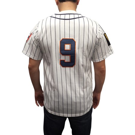 Roy Hobbs #9 Knights Baseball Jersey The Natural New York NY Costume Movie - New York Halloween