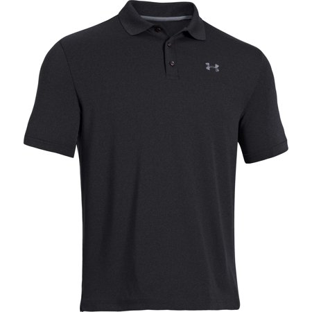 Golf Apparel Closeout (Under Armour Golf CLOSEOUT Men's Performance Polo Black/Steel)