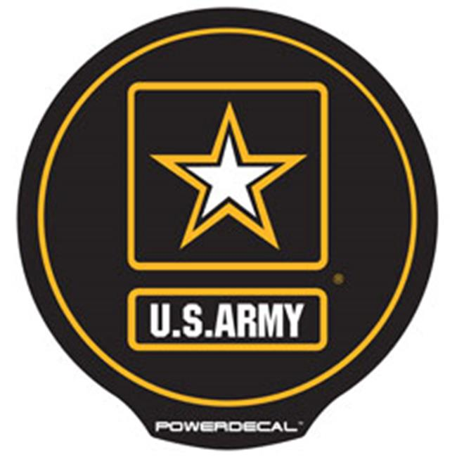AXIZ GROUP MILPWR002 LED Light-Up Decal U.s. Army